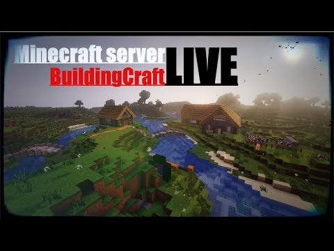 Duky a Fikew (CZ/SK) Live MINECRAFT SERVER BuildingCraft