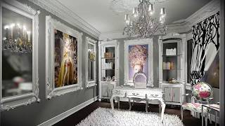 French Style Interior Office Design   Paradise Valley