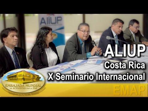 ALIUP - Costa Rica - X Seminario Internacional | EMAP