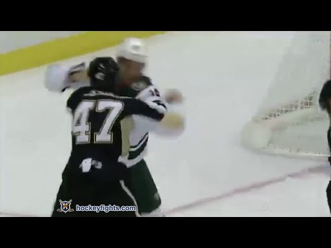 Jason Zucker vs Simon Despres