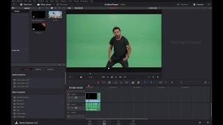 How to do Green Screen in Davinci Resolve