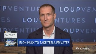 Tesla's vision more accomplishable as a private company, says Gene Munster