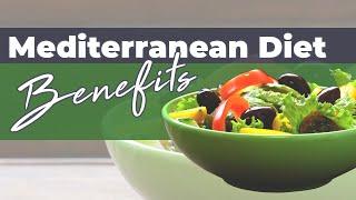 Mediterranean Diet Recipe Book: Benefits of Mediterranean Diet Plan