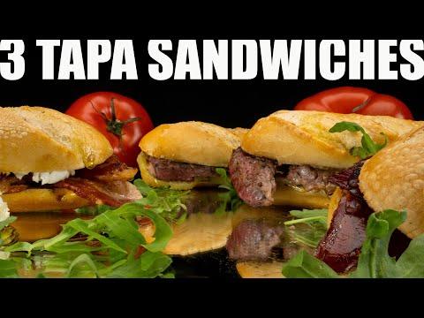 3 Fantastic Spanish Tapa Sandwiches Recipes