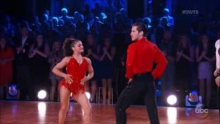 Laurie Hernandez & Val Chmerkovskiy & Maks Chmerkovskiy – Samba - Finale