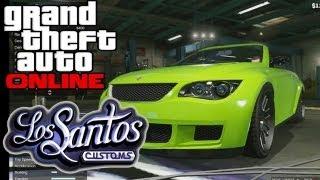 "GTA 5 ONLINE: Los Santos Customs - Mod Shop Walkthrough [HD] ""GTA 5 Online"" V"