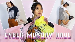 AFFORDABLE CYBER MONDAY FOREVER 21 TRY ON HAUL!   Fashion   Nava Rose