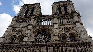 preview picture of video '(4K)Travel to Paris 2014 - Cathédrale Notre-Dame ノートルダム寺院'