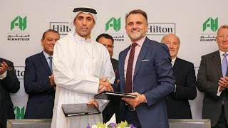 Al Habtoor Group and Hilton; A New Partnership at Al Habtoor City (1min)