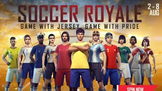 SOCCER ROYAL / new event / new  luck royal/ new rare item/ new