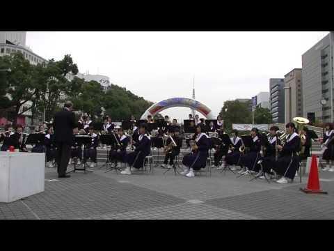 汐路中学校 吹奏楽部 Vol3 @ 栄まちじゅう音楽広場 2015