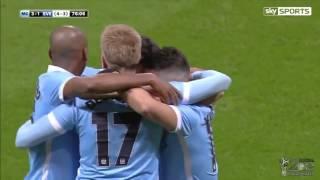 Cuplikan Gol Manchester City Vs Everton 31 28012016