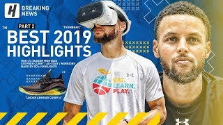 Stephen Curry BEST Highlights & Moments from 2018-19 NBA Season! Chef Curry Mode! (LAST Part 2)