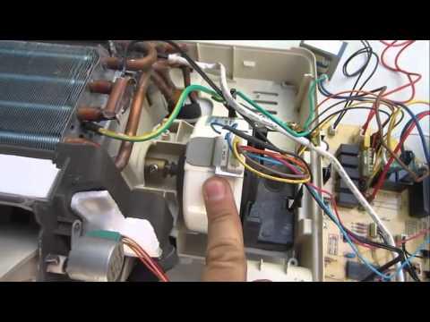 Funcionamiento y componentes de un aire acondicionado