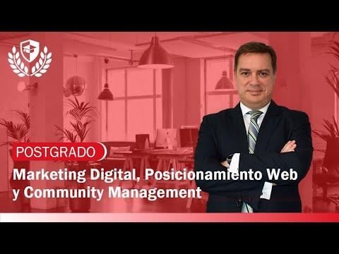 Postgrado en Marketing Digital, Posicionamiento Web y Community Management de Postgrado en Marketing Digital, Posicionamiento Web y Community Management en Mediterránea Business School
