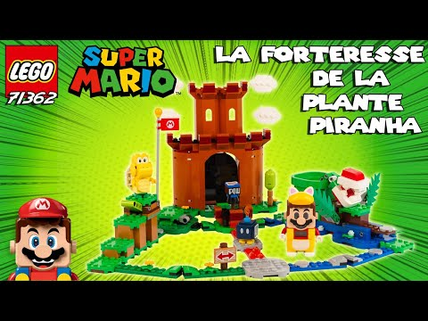 Vidéo LEGO Super Mario 71362 : La forteresse de la Plante Piranha - Ensemble d'extension