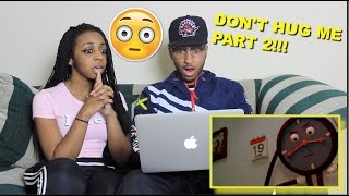 Couple Reacts : Don't Hug Me I'm Scared 2 Reaction!!!!