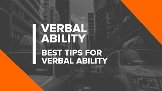 Verbal Ability for GATE 2019 Exam   Best Tips for Verbal Ability