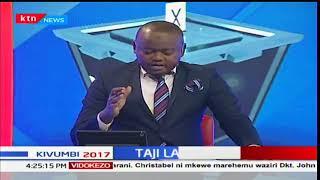 Anne Waiguru aapishwa kama gavana wa kwanza wa kike kaunti ya Kirinyaga: Mbiu ya KTN