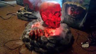 Campfire Zombie (W/ fog)  Spirit Halloween 2017