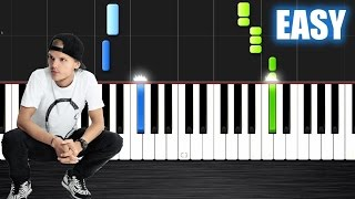 Avicii   Waiting For Love   EASY Piano Tutorial By PlutaX   Synthesia