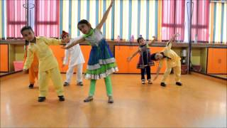 Little Cute kids Dancing on Tung Tung Baje | Singh Is Bliing | Step2Step Dance Studio