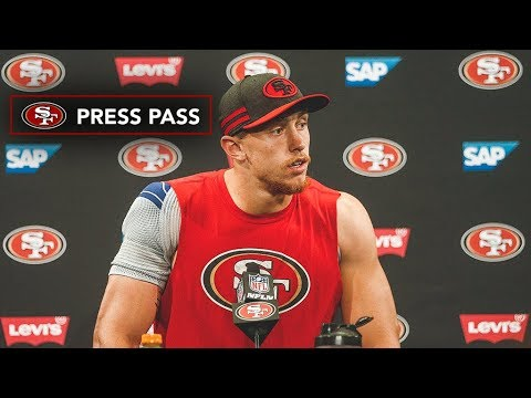 George Kittle Evaluates his Performance against the Rams in Week 7 2177bd044