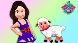 Mary Had a Little Lamb Poem with Lyrics - Best Nursery Rhymes for Children | Kids Music | Mum Mum TV