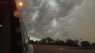 5/01/2016 -- Driving with Dutchsinse -- Severe weather strikes Saint Louis Missouri