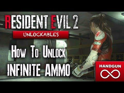 Download How To Unlock Infinite Ammo Handgun In Resident Evil 2