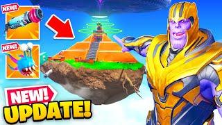 *NEW* Fortnite's BEST UPDATE EVER! (Secret Vault, New Aliens + MORE)