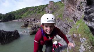 Coasteering fun with Reach Outdoors