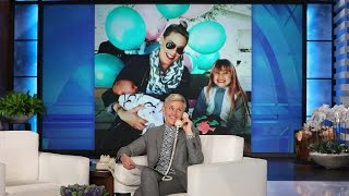 P!nk Talks Baby Number Two and Ellen's Theme Song