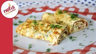 2 peynirli omlet tarifi  peynirli omlet yapımı  nefis yemek tarifleri