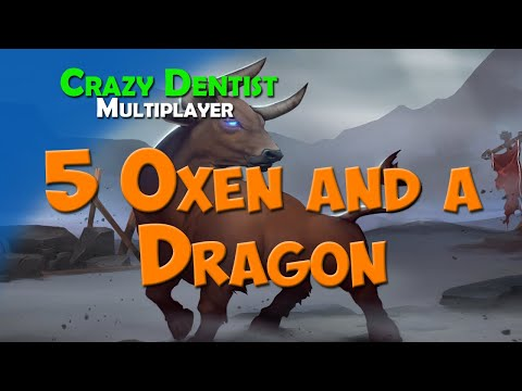 5 Oxen and a Dragon | Ox clan in 3v3 | Northgard