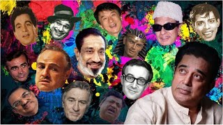 Kamal Haasan Impersonations - Impressions of 16 actors! (Sivaji, Peter Sellers, Robert De Niro)