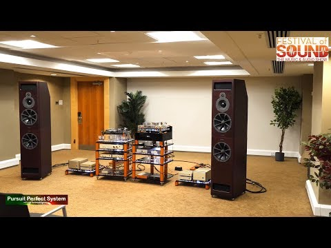 Vertere Acoustics High End HiFi System with PMC @ Festival of Sound 2018