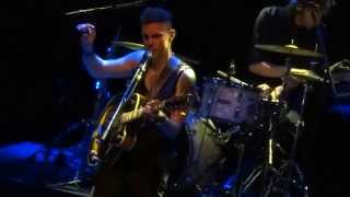 Asaf Avidan & Band - My Tunnels Are Long And Dark These Days @ AB, Brussels, 2015-04-04