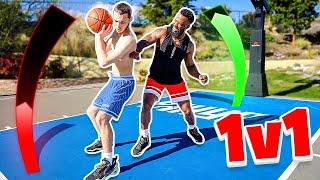 1v1 Basketball Against Adin Ross!