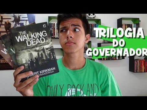 TRILOGIA DE QUATRO LIVROS? | Série The Walking Dead: Governador