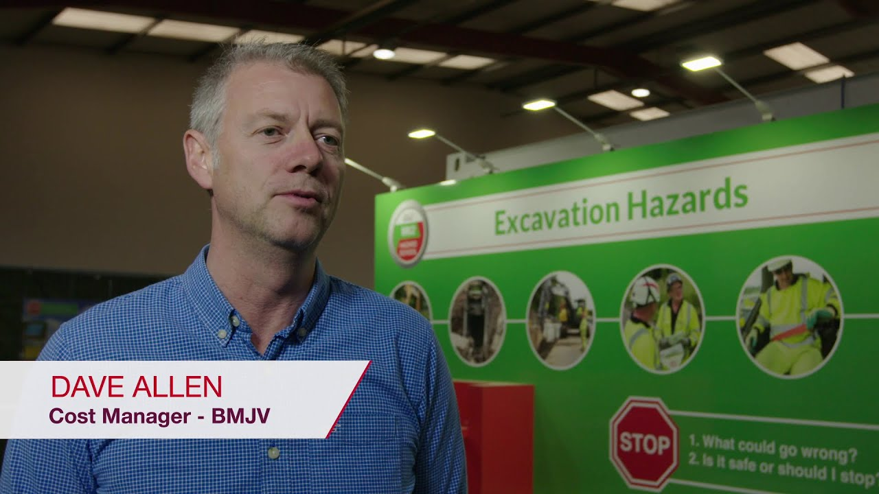 Video showing how ON!Track has benefited BMJV through interviews with workers and Hilti account manager