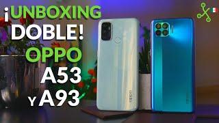 OPPO A93 y A53: unboxing y primeras impresiones en México: gama media con 90 Hz y cuatro cámaras
