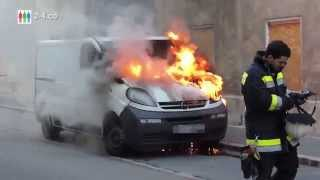 preview picture of video 'Brandserie - Feuer Nr 20 - Klein LKW in Hainburg'