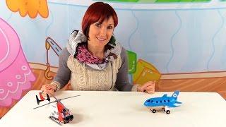 Веселая Школа - Мультфильмы про самолёты- оригами для детей