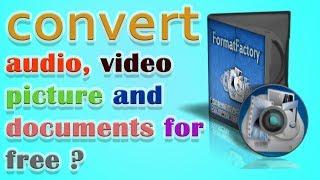 all in one converter ! video converter for pc ! audio converter ! picture converter !! Techzinfo !!