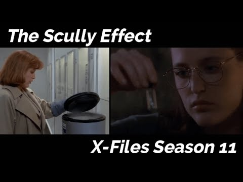 The Scully Effect - X-Files Season 11 DVD Extra