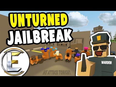 JAILBREAK | Unturned Prison Warden RP - They Plan a Secret Escape (Roleplay)