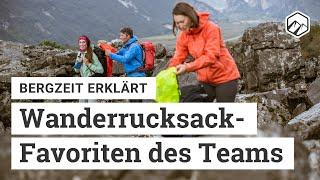 Mein Wanderrucksack: Favoriten vom Bergzeit Team