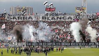 """Así Fue El Vibrante """"arengazo"""" Para Colo Colo En La Previa Del Superclásico"""