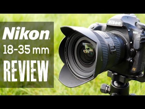 NIKON 18-35mm G LENS REVIEW - A great landscape wide angle? (2019)
